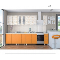 Кухня АРТ. Фасад- арт матовый в ПВХ. 25