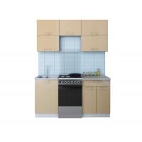 Готовая кухня ГЛОСС 50-16 (Капучино/ Капучино)
