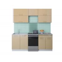 Готовая кухня ГЛОСС 50-20 (Капучино/ Капучино)