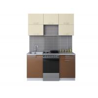 Готовая кухня ГЛОСС 50-15 (Ваниль/ Шоколад)