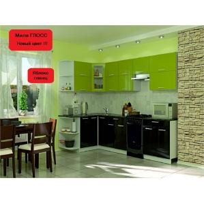 2. Кухня ГЛОСС. 2,8х1,2м