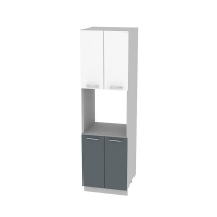 Шкаф-пенал Глосс НШП-№5-2145-60 см
