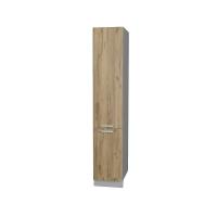 Шкаф пенал Лайт №2 40х215 см (Дуб золотой)