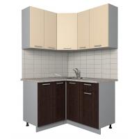 Готовая кухня Лайт 1,2x1,3 (Ваниль/ Венге)