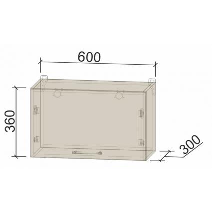 Шкаф верхний горизонтальный 60 см