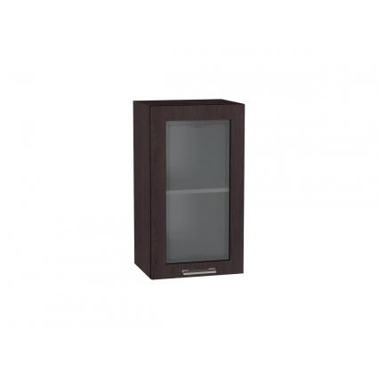 Шкаф верхний с витриной 40 см