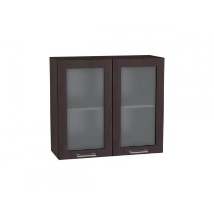 Шкаф верхний с витриной 80 см