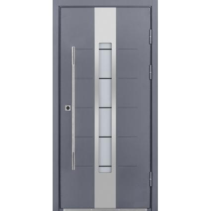 Дверь металлическая inox S-1