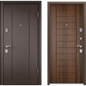 Входная дверь Дельта MP-3R (Медь/ Лесной орех)