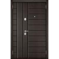 Входная дверь Мега-2 (Дуб шоколад/ Дуб шоколад)