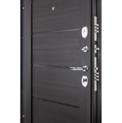 """Дверь металлическая Groff """"Прайм-22"""" Венге"""