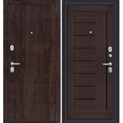 """Дверь металлическая Groff """"Прайм-29"""" Венге"""
