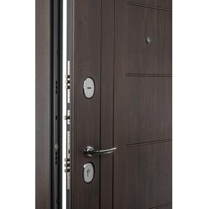 Дверь металлическая Прайм-29 Венге