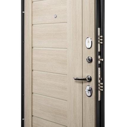Дверь металлическая Прайм-29 Дуб Беленый
