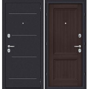 """Дверь металлическая Groff """"Техно-32 Венге"""""""