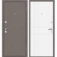 Входная дверь Марс (Мокко коричневый/ Ясень Белый)