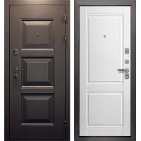 Входная дверь Мега 110 (Мокко/ Арктик эмалит)