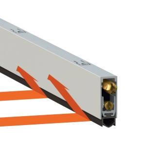 Автоматический порог 1000 для дверей до 1000 мм.