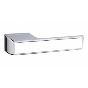 Дверная ручка Атлас A78 (Хром/White)