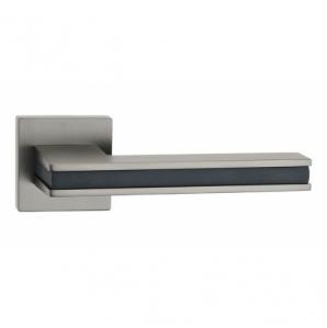 Дверная ручка Паоло A44 (Мат. Никель/Black)
