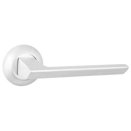 Дверная ручка Блэйд Белая